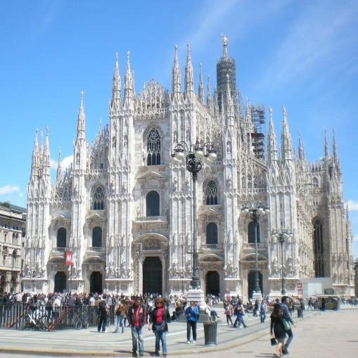 Milano_duomo - piazza