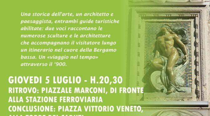 BERGAMO SCOLPITA/2  **sculture e architetture della Bergamo del '900**